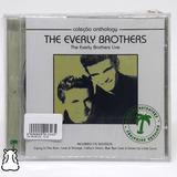 Cd The Everly Brothers Live Coleção Anthology Novo Lacrado