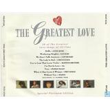 Cd The Greatest Love Duplo Importado Lionel Richie Kate Bush
