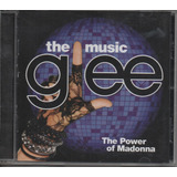 Cd The Music Glee   The Power Madonna   Semi Novo   Fte R$10