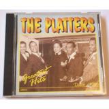 Cd The Platters   Greatest Hits   Importado