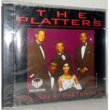 Cd The Platters   The Great Pretender   Promoção Apenas 1 Un