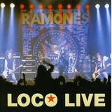 Cd The Ramones Loco Live