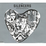 Cd The Silencers   Bullet Proof Heart  slim    Usado