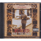 Cd The Soundtrack Murder Was The Case   Snoop Doggy Dogg