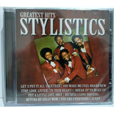 Cd The Stylistics   Greatest Hits   Flash Back   Lacrado
