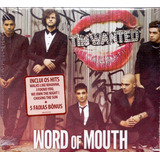 Cd The Wanted   Word Of Mouth   Novo