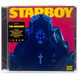 Cd The Weeknd Starboy 2016 Americano Lacrado Republic
