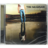 Cd Tim Mcgraw   Greatest Hits Vol 2   Lacrado   Importado