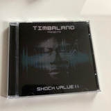 Cd Timbaland Shock Value Ii Nunca Usado Sem Lacre