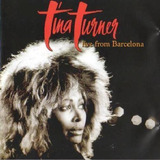 Cd Tina Turner Live From Barcelona