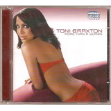 Cd Toni Braxton   More Than A Woman   Novo