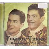 Cd Tonico E Tinoco Recordando O 78 Vol 03   Orig Lacrado