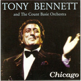 Cd Tony Bennett And The Count Basie Orchestra   Chicago
