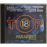 Cd Top 18 Paradoxx  Frestylers Music  Eletrônico Italohause