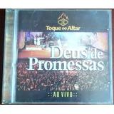 Cd Toque No Altar Deus De Promessas