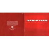 Cd Tower Of Power Live And In Living Color 1989 Usado