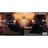 Cd Trapp Stop The Gunfight 2pac Notorious Big 1997 Usado