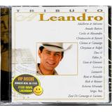 Cd Tributo A Leandro Com Leonardo Sérgio Reis Amado Batista