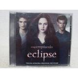 Cd Trilha Sonora  Do Filme A Saga Crepúsculo  Eclipse