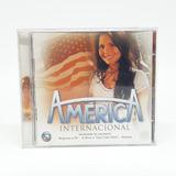 Cd Trilha Sonora Novela América Internacional