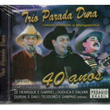 Cd Trio Parada Dura   40 Anos
