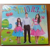 Cd Trio R3 Kids     Novo Lacrado