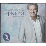 Cd Triplo J Neto   As 60 Melhores   Original Lacrado Digipac