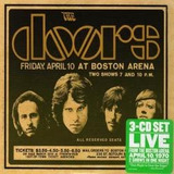 Cd Triplo The Doors   Live In Boston 1970   Embalagem Pac
