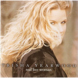 Cd Trisha Yearwood   Real Live Woman   Novo Importado