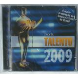 Cd Troféu  Talento 2009 Lacrado De Fábrica  Raridade