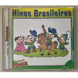 Cd Turma Da Mônica Hinos Brasileiros 2004   B3