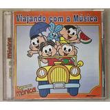 Cd Turma Da Mônica Viajando Com A Música 2004   B3