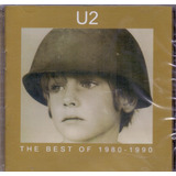 Cd U2   The Best Of 1980 Á 1990   Novo