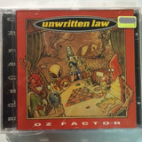 Cd Unwritten Law   Oz Factor Importado