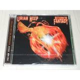 Cd Uriah Heep   Return To Fantasy 1975  inglês Rem   7 Bônus