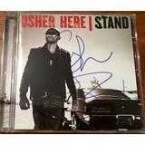Cd Usher Autografado   Queima De Estoque