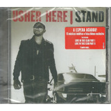 Cd Usher Here I Stand 2008 Feat Young Jeezy Beyoncé Lacrado