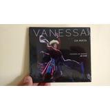 Cd Vanessa Da Mata   Caixinha De Música  Ao Vivo   Digipack