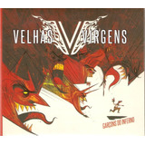 Cd Velhas Virgens   Garçons Do Inferno   Digipack   Novo