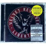 Cd Velvet Revolver Libertad Importado Bonus Dvd Pal Frete Gr