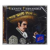 Cd Vicente Fernandez   Aunque Me Duela El Alma   Importado