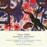 Cd Villa lobos With Victoria De Los Angeles   Bachianas Bras
