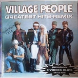 Cd Village People greatest Hits remix