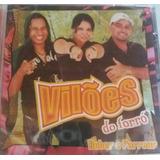 Cd Vilões Do Forró   Beber E Farrear   2007