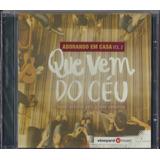 Cd Vineyard Music Que Vem Do Céu I Adorando Em Casa Vol 2