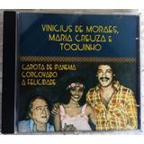 Cd Vinicius De Moraes Maria Creuza Frete Grátis Toquinho