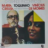 Cd Vinicius De Moraes Toquinho Disco Maria Creuza Gala 79 A5