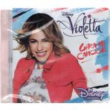 Cd Violetta Gira Mi Canción   Lacrado