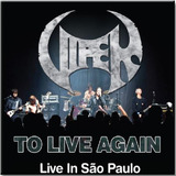 Cd Viper   To Live Again Live In Sp