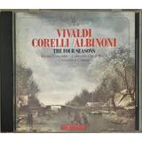 Cd Vivaldi Corelli Albinoni The Four Seasons 88 Movie Playd1
